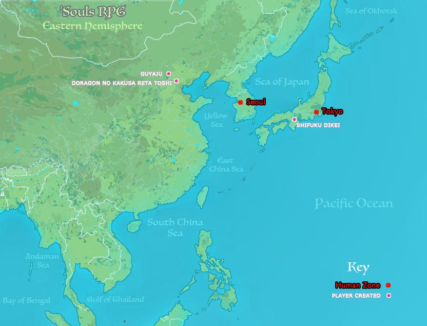 Eastern Hemisphere: East Asia
