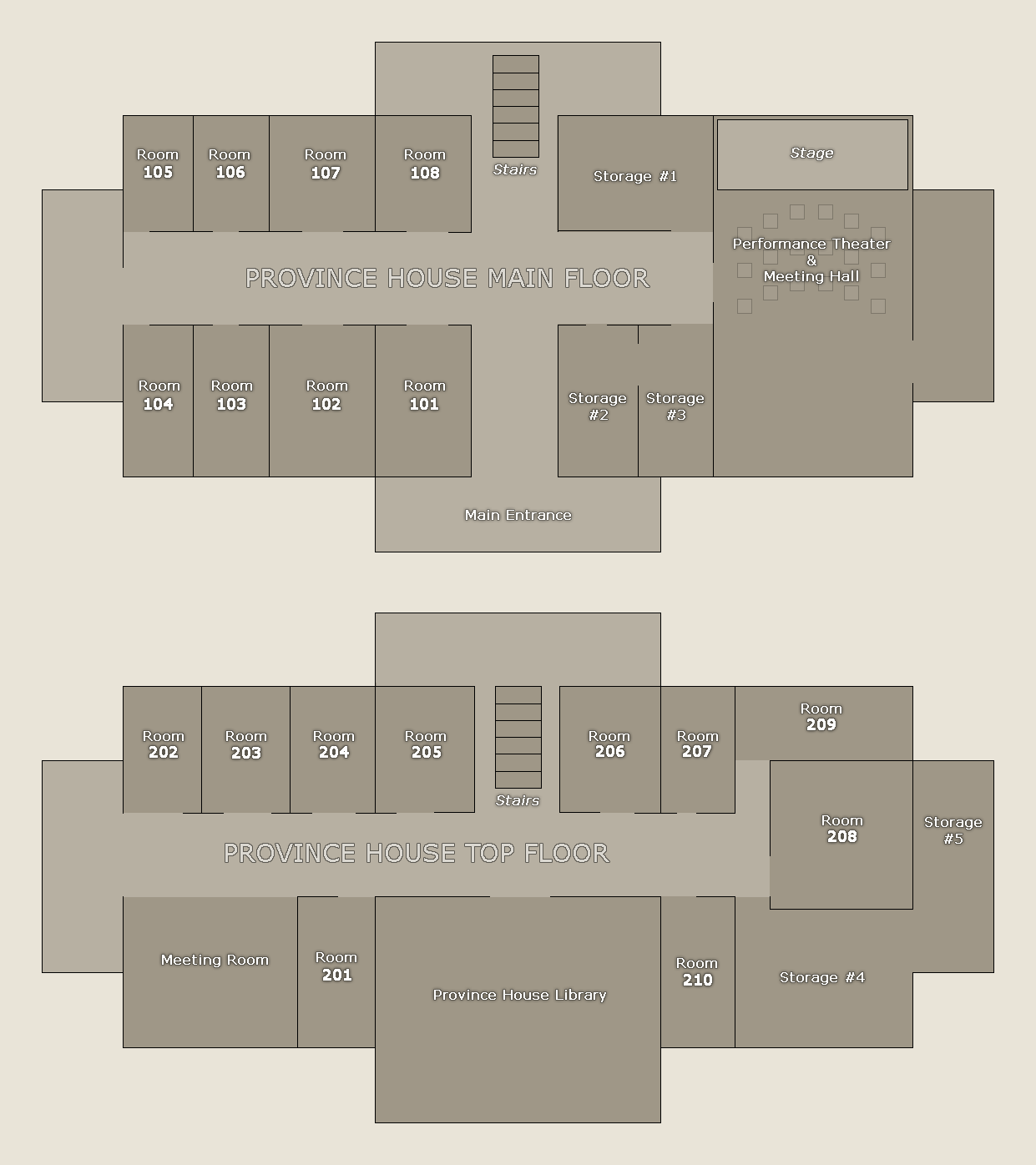 Map created by Midnight Shores Leadership