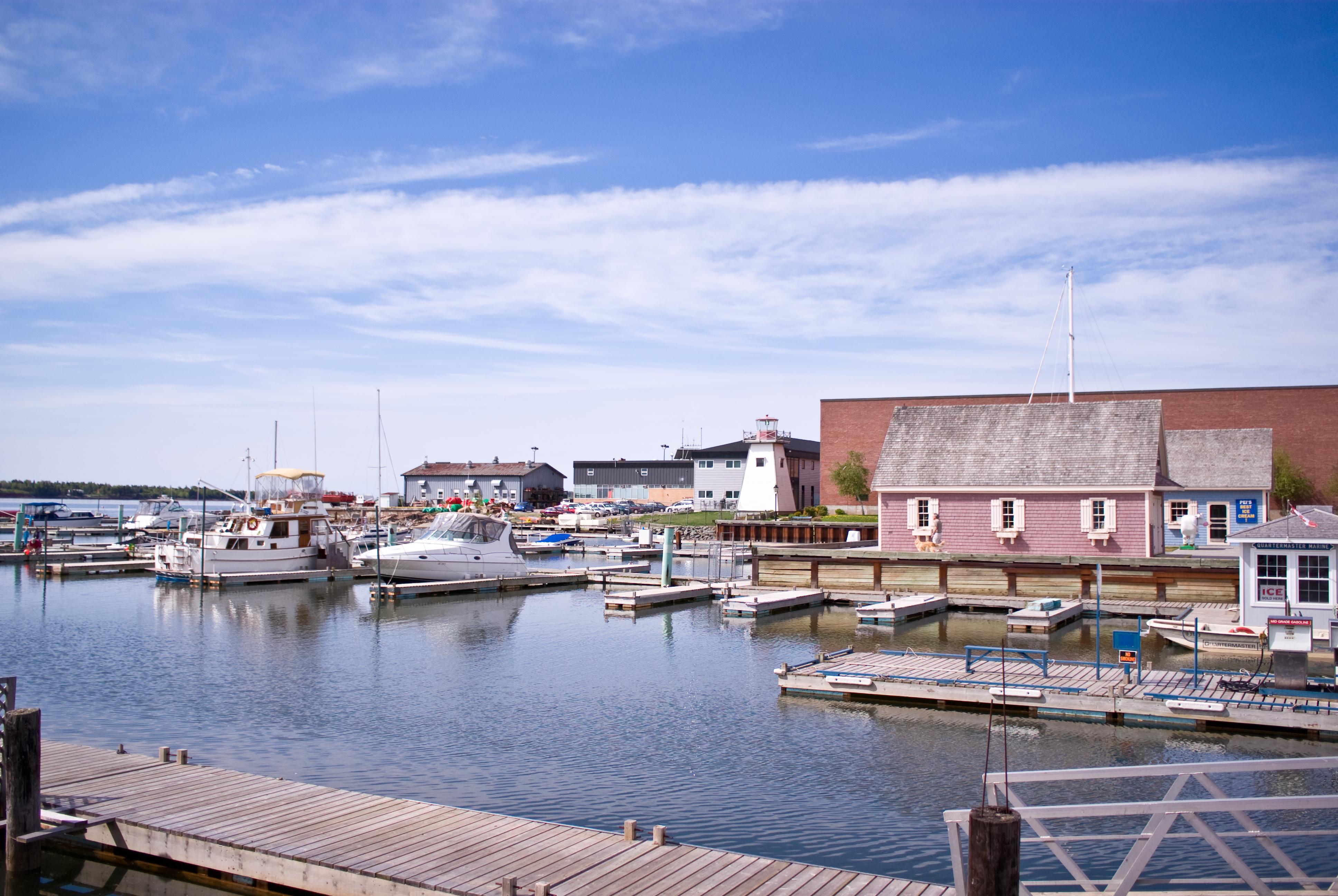 The Harbors of Charlottetown