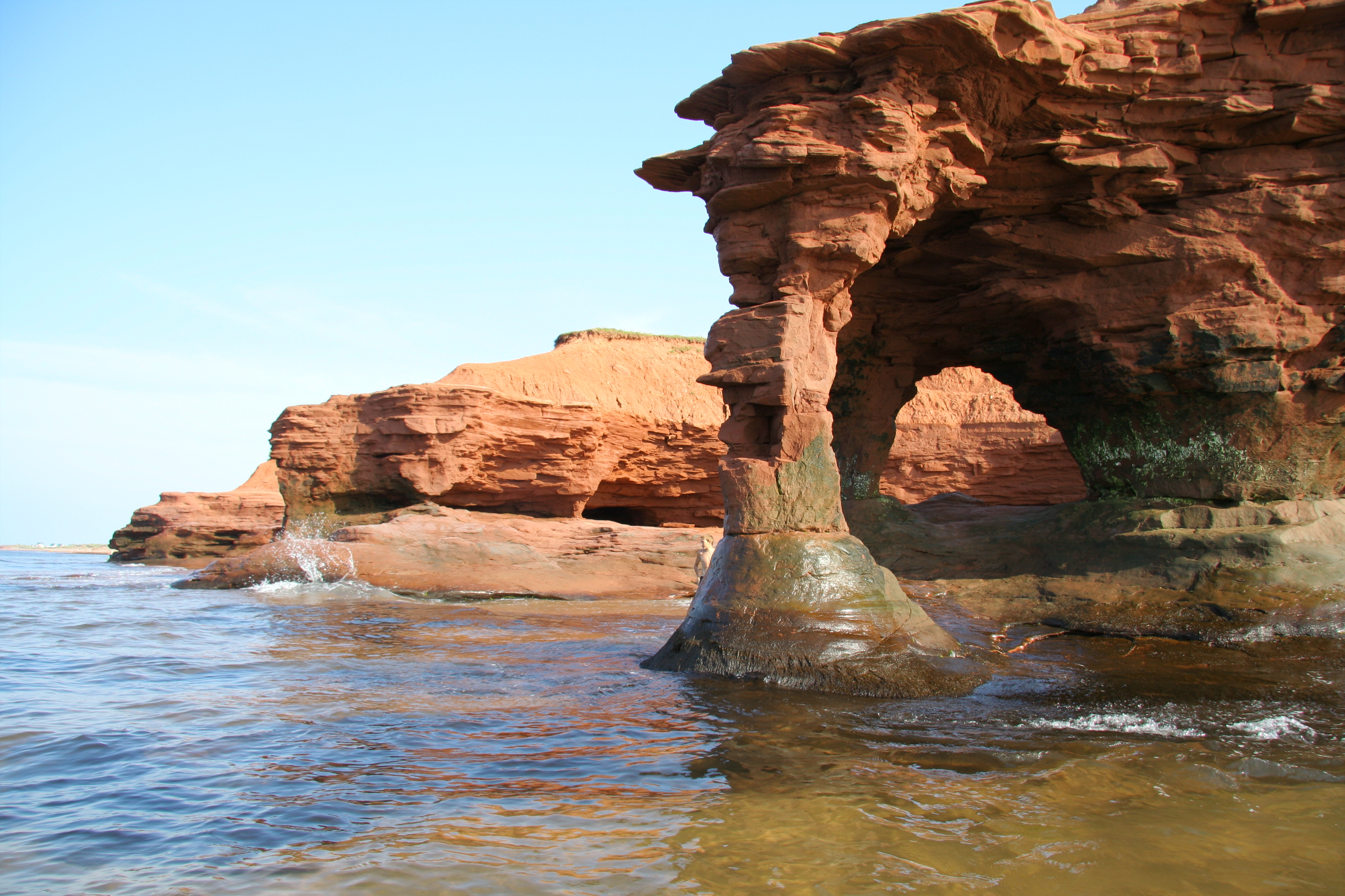 Sandstone Arch on the Scarlet Coasts